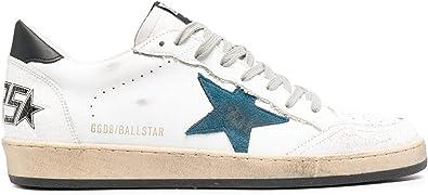 Golden Goose Luxury Fashion Uomo GMF00117F00063710348 Bianco Pelle Sneakers | Primavera-Estate 21
