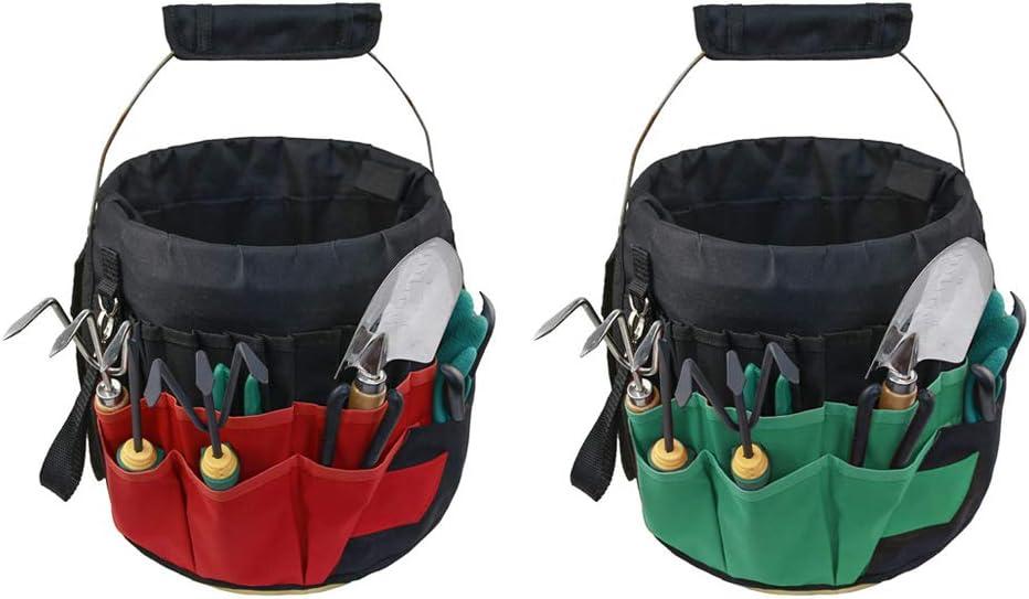 hunpta 1PCS Gardening Tote Bag, Bucket organizer Tool Bucket Sto