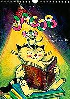 Kater Jacob: kleine Katzenweisheiten (Wandkalender 2022 DIN A4 hoch): Fuer allen Fans des charmanten Vierbeiners (Monatskalender, 14 Seiten )