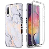SURITCH for Samsung A50 Case Silicone with Built-in Screen