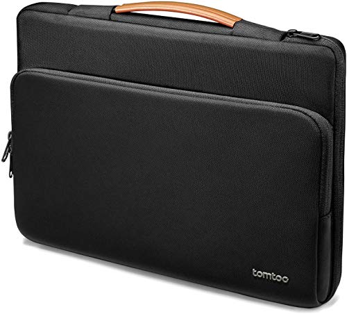 tomtoc Recycled Laptop Case for 15.6 inch Acer Aspire 5 Slim Laptop, 15.6 HP Pavilion, 15.6 Inch ASUS ROG Zephyrus, 2020 New Dell XPS 17, 360 Protective Bag for Dell Asus ThinkPad 15 Inch Chromebook