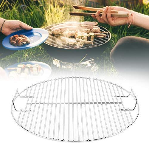 Bediffer Parrilla de cocina multifuncional Parrilla de cocina Fuerte antiadherente BBQ Mesh Metal sin rebabas para barbacoa para cocinar al aire libre