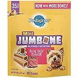 PEDIGREE MINI JUMBONE Small Dog Treats Real Beef...