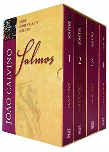 Box Salmos: João Calvino - 4 Volumes