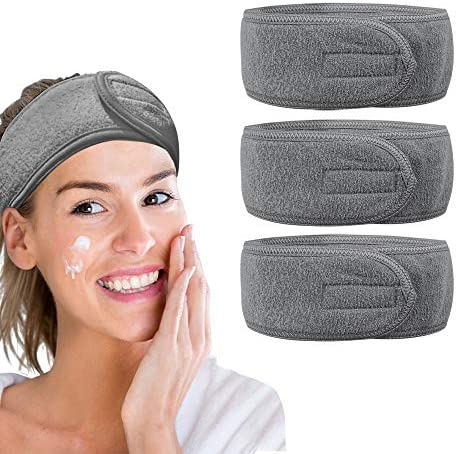 GonHui Face Wash Headband for Women Head Warp Terry Cloth Adjustable Makeup Headband Girl Hair product image