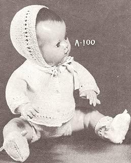Vintage Knitting PATTERN to make - Knitted 10