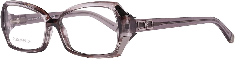 DSquared Dsquared2 Brillengestelle Dq5049 020 54 Monturas de Gafas, Gris (Grau), 51 para Mujer
