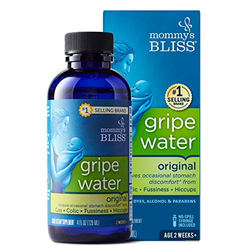 Mommy's Bliss - Gripe Water Original - 4 FL OZ Bottle