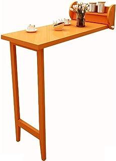 WangYi Table Pliable- Mural Table Pliante, Simple Table de Cuisine en Bois, Ordinateur de Bureau à Domicile, résistant à 1...