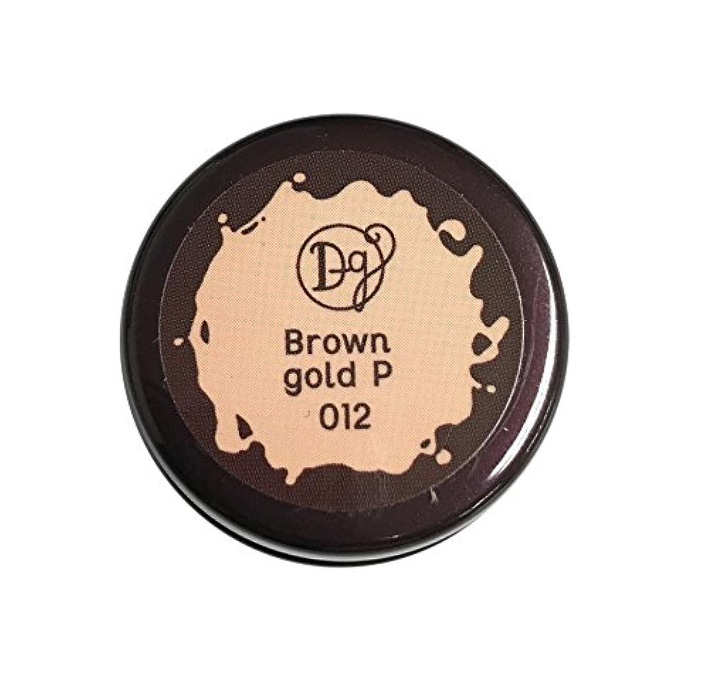 失う相手四半期デコラガール カラージェル 012 ブラウンゴールドペール 3g