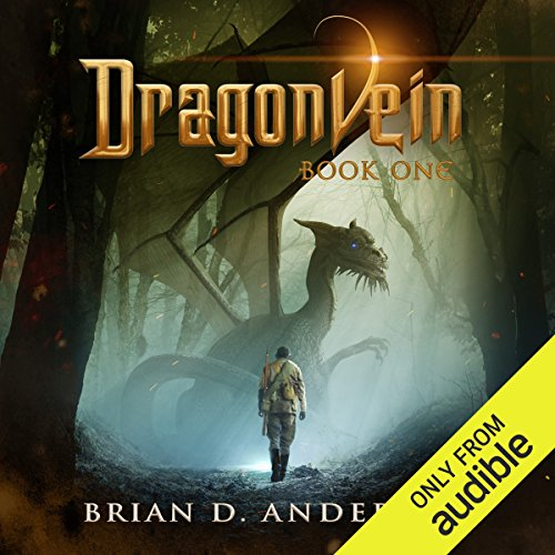 Dragonvein, Book One audiobook cover art