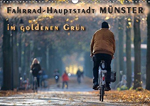 Fahrrad-Hauptstadt MÜNSTER im goldenen Grün (Wandkalender 2019 DIN A3 quer):
