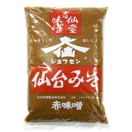 仙台みそ 赤味噌 1kg /仙台味噌醤油(3袋)