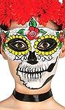Máscara para mujer para el Día de Muertos Fiestas Guirca GUI12907