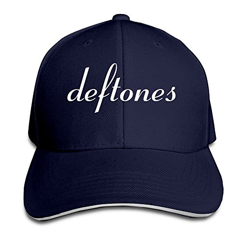 Marc Custom Deftones Adult Sun Headwear Navy