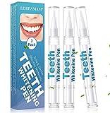Gel Blanqueador de Dientes,Blanqueamiento de dientes,Blanqueamiento Dental Gel,Blanqueador Dental blanqueamiento de los dientes gel que aclara Lápiz Blanqueador del quita las manchas higiene oral 3PC