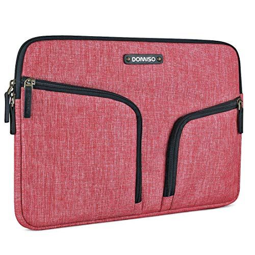 DOMISO 12,5-13 Inch Waterdichte Laptophoes Notebooktas Laptoptas Canvasstof voor Laptops / Apple 13