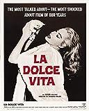 La Dolce vita - Federico Fellini - Poster cm. 30 x 40