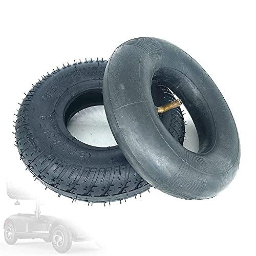 Neumáticos de Scooter eléctrico,Rueda Completa de Aluminio de 9 Pulgadas 2.80/2.50-4 con neumáticos Antideslizantes Resistentes al Desgaste,adecuados para Accesorios Opcionales para Scooter,neumático