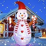 Top 10 Outdoor Light Up Snowmans