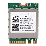 ASHATA WLAN Card WiFi Card,Network Card RTL8822BE Dual Band 2.4G/5G M.2 Interface Support for Bluetooth 4.2,Support for Win 7, for Win 8 and for Win 10 System