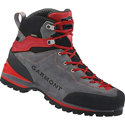 GARMONT M Ascent GTX Grau-Rot, Herren Gore-Tex Wanderschuh, Größe EU 46 - Farbe Grey - Red