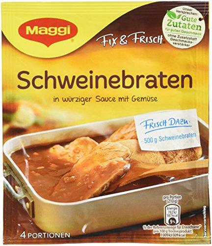 Maggi Fix Schweinebraten, 18er Pack (18 x 36 g)