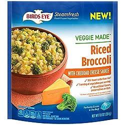 Birds Eye Steamfresh Veggie Made Riced Broccoli & Cheese, Keto Friendly, 10 oz (frozen)