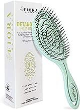 Fiora Naturals Hair Detangling Brush -100% Bio-Friendly Detangler hair brush w/ Ultra-soft Bristles- Glide Through Tangles with Ease - For Curly, Stright, Women, Men, Kids, Toddlers, Wet and Dry Hair