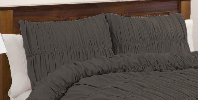 ventas en linea SCALABEDDING 100% algodón algodón algodón egipcio 600hilos ReuNiños volantes almohada cuadrada Pequeña sólido elefante gris  suministro directo de los fabricantes