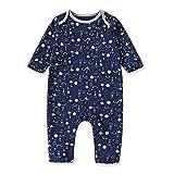 Baby nest ベビー服 男の子 ロンパース カバーオール かわいい 秋冬 赤ちゃん服 新生児服 出産祝い 欧米風 ロケット 90 18-24ヶ月