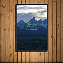 Kanye West The Life of Pablo Ye Hot Album Music Cover Hip Hop Pop Rap Art Painting Silk Canvas Poster Wall Home Decor 40 *...