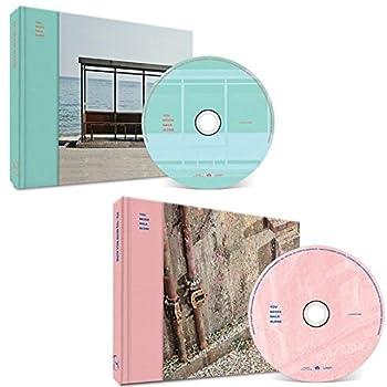 BTS YOU NEVER WALK ALONE BANGTAN BOYS KPOP WINGS [Left + RIGHT Ver SET] Album 2CD + 2 Photobooks + 2 Photocards