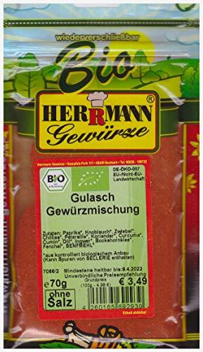Gulasch Gewürzmischung BIO (100g/4,99€)