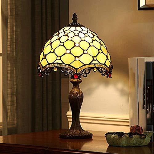 10 pollici lampada da letto lampada da comodino epoca scrivania,Yellow