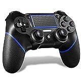 MAXKU Contrôleur pour PS4, Contrôleur sans Fil pour Playstation 4 / Pro/Slim/PC, Contrôleur De Jeu à écran Tactile avec Double Vibration à Six Axes Et Prise Audio
