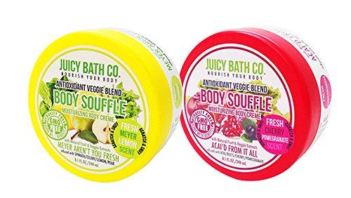 Juicy Bath 2 Piece Souffle Body Cream Set, Meyer Aren't You Fresh/Acai'd From It All