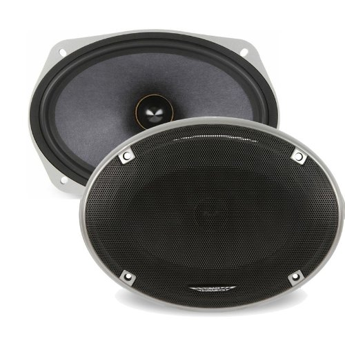 "X-69 - Image Dynamics 6""x9"" High Definition Mid-Bass Drivers with Composite Nomex Rohacell Cone"