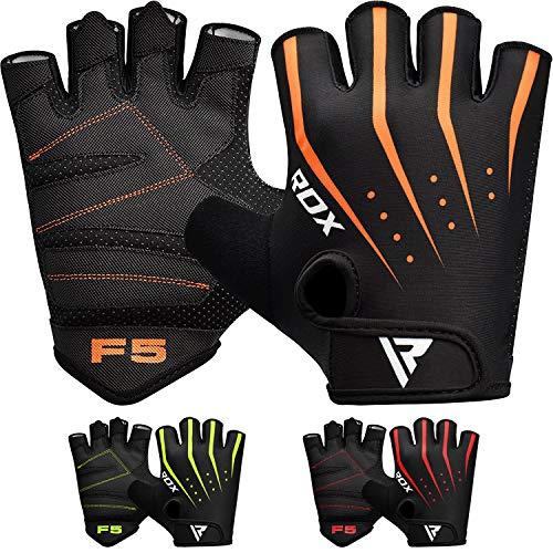 RDX Gym Fitness Handschuhe Gewichtheben Bodybuilding Sports Trainingshandschuhe Workout Gloves (MEHRWEG)