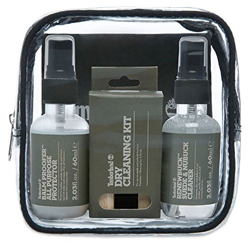 Timberland Travel Kit, Kits de cuidado de zapatos Unisex Adu