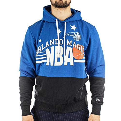New Era Sudaderas Modelo NBA Throw Back Hoodie ORLMAG BAZ Marca
