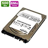 Disco duro de 500 GB SATA de 2.5' para Toshiba MK5061GSY HDD2F52 7200 rpm, PC portátil 8 MB