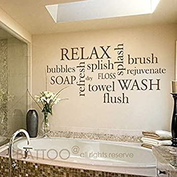 Explore Wall Decals For Bathrooms Amazon Com