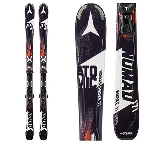 Atomic Nomad Smoke Ti Skis with XTO 12 Bindings - 157cm by Atomic