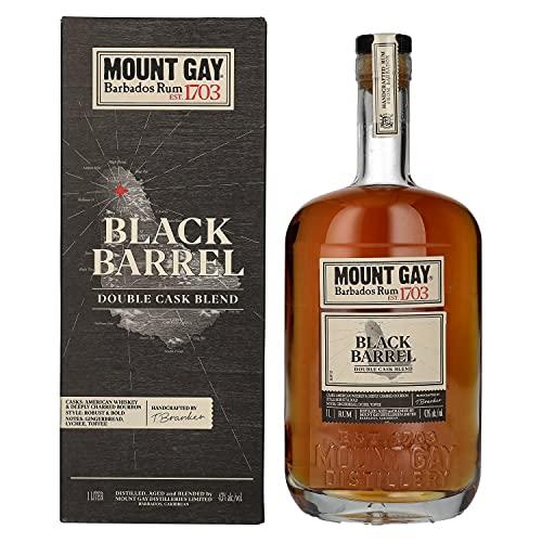 Mount Gay Mount Gay 1703 BLACK BARREL Barbados Rum 43%, 1 l, Rum