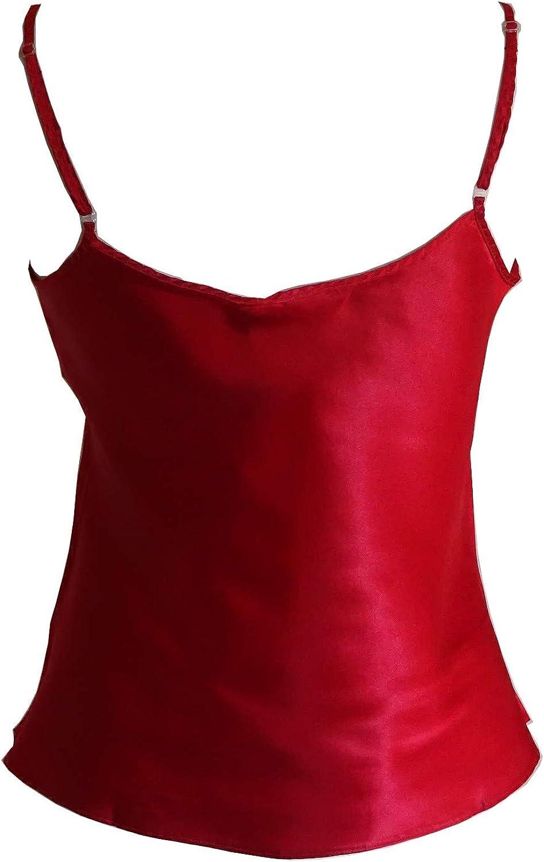 Jane Brooke Ladies Satin Reversible Camisole//Vest
