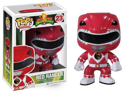 Funko POP Television: Power Rangers Red Vinyl Figure