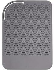 OXO Bra grepp värmebeständig silikon resematta, grå, en storlek
