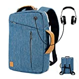 Laptop Backpack 17 17.3 Inch Travel College Shoulder Bag for Men Women Acer Aspire V17 Predator Helios Asus VivoBook Pro 17 ROG Mothership ROG Chimera