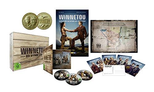 Winnetou - Der Mythos lebt  (Western-Holzkiste) [Blu-ray] [Limited Edition]